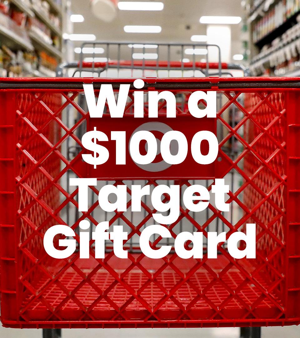 $1000 Target Voucher